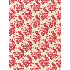 8070-08 DUNMORE Red on Tint Custom Only Quadrille Fabric
