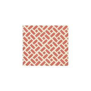 2220-09SUN EDO New Shrimp Quadrille Fabric