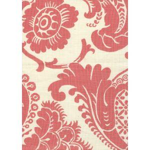 302075F ESTE New Shrimp on Tint Quadrille Fabric