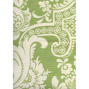 302173F ESTE REVERSE Pistachio on Tint Quadrille Fabric