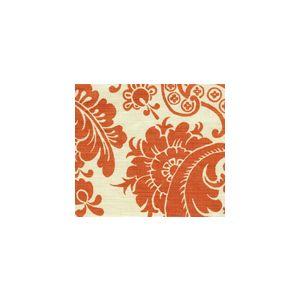 302077F ESTE Terracotta on Tint Quadrille Fabric