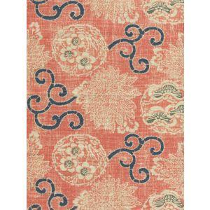 2439-01 FAIRIE ENCHANTEE TOILE Saummon Quadrille Fabric
