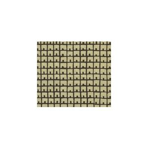 4040-01 FEZ BACKGROUND Brown on Tan Quadrille Fabric