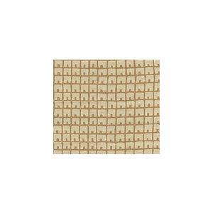 4040-02 FEZ BACKGROUND Camel II on Tan Quadrille Fabric
