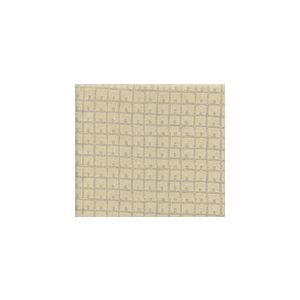 4040-06 FEZ BACKGROUND Silver Metallic on Tan Quadrille Fabric
