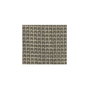 4045-03 FEZ II Steel Gray on Tan Quadrille Fabric