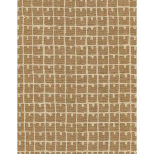 4045-02 FEZ II Camel II on Tan Quadrille Fabric