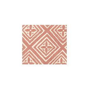 2490-12 FIORENTINA Coral on Tint Quadrille Fabric