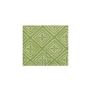 2490SU-07-JUNGLE-GREEN FIORENTINA Jungle Green on Vellum  Quadrille Fabric