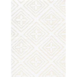 2490-01 FIORENTINA White on Tint Quadrille Fabric