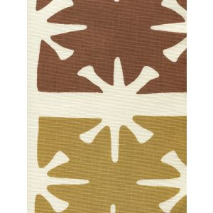 8095-02 GEORGIA LARGE SCALE Camel Tobacco on Tint Custom Only Quadrille Fabric