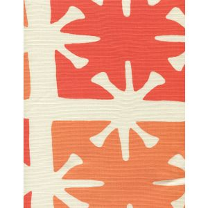 8095-08 GEORGIA LARGE SCALE Tangerine Orange on Tint Custom Only Quadrille Fabric
