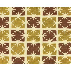8090-02 GEORGIA SMALL SCALE Camel Tobacco on Tint Quadrille Fabric
