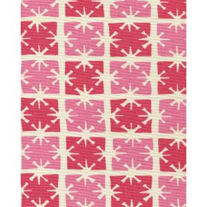 8090-03 GEORGIA SMALL SCALE Pink Magenta on Tint Quadrille Fabric
