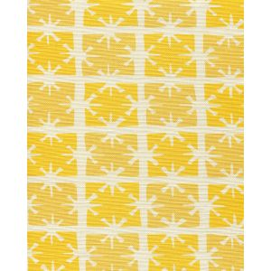 8090-01 GEORGIA SMALL SCALE Sunflower Yellow on Tint Quadrille Fabric