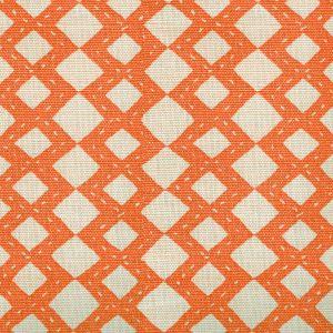 AC920-11 HANDSTITCH Orange Quadrille Fabric