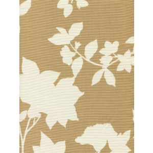 306181F HAPPY GARDEN BACKGROUND Camel on Tint Quadrille Fabric