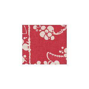 3010-13 HAWTHORNE Magenta on Tan Quadrille Fabric