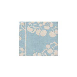 3010-07 HAWTHORNE New Blue on Tan Quadrille Fabric