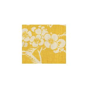3010-02 HAWTHORNE New Ochre on Tan Quadrille Fabric