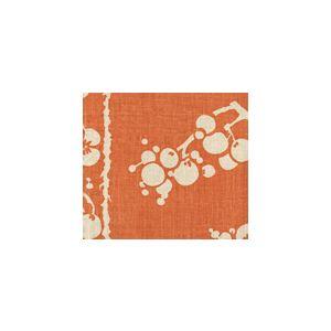 3010-04 HAWTHORNE Tomato on Tan Quadrille Fabric