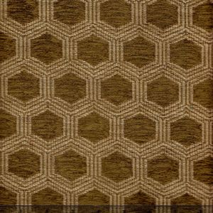 010972T HEXAGON Moss Quadrille Fabric