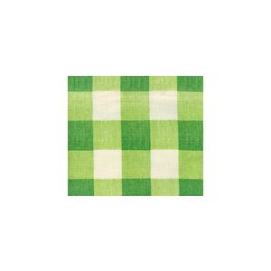 302522F HINGHAM PLAID Green on Tint Quadrille Fabric