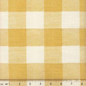 302524F HINGHAM PLAID Inca Gold on Tint Quadrille Fabric