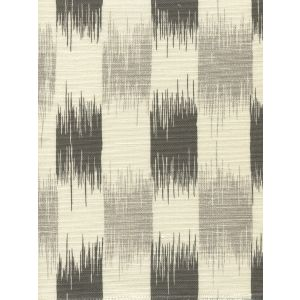 9015-09 II BLUE IKAT Gray Steel Gray on Tint Quadrille Fabric