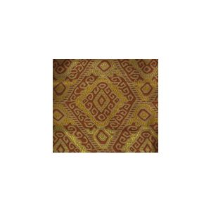 009831T INCA Multi Terracotta Tan Quadrille Fabric