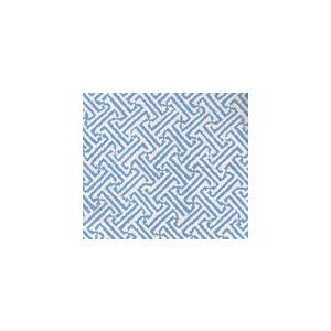 3080-25 JAVA JAVA Aqua on White Linen Cotton Quadrille Fabric