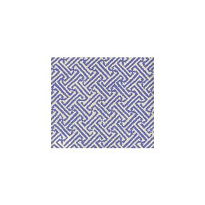 4010-31 JAVA JAVA Pacific Blue on Tinted Linen Cotton Quadrille Fabric