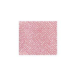 3080-26 JAVA JAVA Pink on White Linen Cotton Quadrille Fabric
