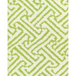 6620-10 JAVA GRANDE Lime on Tint Quadrille Fabric