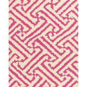 6620-02 JAVA GRANDE Magenta on Tint Quadrille Fabric