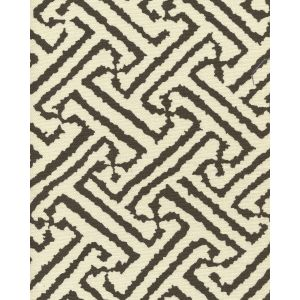 6620-07 JAVA GRANDE New Brown on Tint Quadrille Fabric