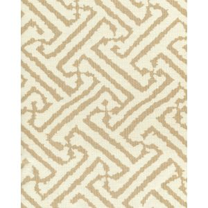 6620-09 JAVA GRANDE Tan on Tint Quadrille Fabric