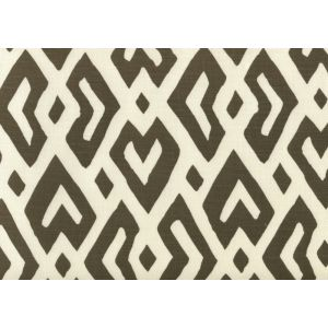 AC115-10 JUAN LES PINS Brown on Tint Quadrille Fabric