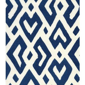 AC115-07 JUAN LES PINS New Navy on Tint Quadrille Fabric