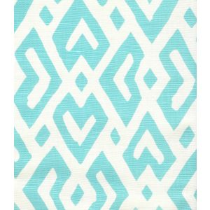 AC115-05 JUAN LES PINS Turquoise on Tint Quadrille Fabric