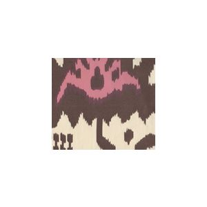 302830U-15 KAZAK Brown Pink on Suncloth Quadrille Fabric