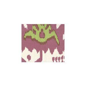 302830U-01 KAZAK Magenta Lime on Vellum Quadrille Fabric
