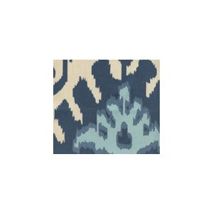 302830U-05 KAZAK New Navy Denim Blue on Suncloth Quadrille Fabric