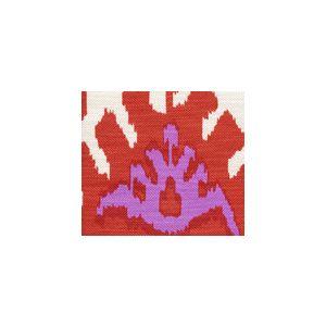 302830U-06V KAZAK Orange Pink on Vellum Quadrille Fabric