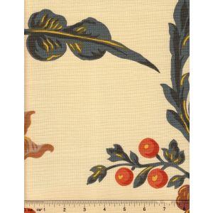 1716-03 LE NOTRE TOILE Gris Marron Quadrille Fabric
