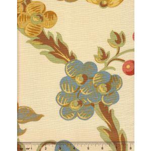 1716-04 LE NOTRE TOILE Turquoise Quadrille Fabric