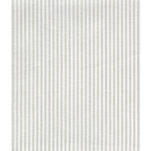 6920W-13 LILA STRIPE Soft Gray on White Linen Quadrille Fabric