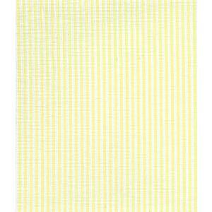 6930W-16 LULU STRIPE Soft Chartreuse on White Linen Quadrille Fabric