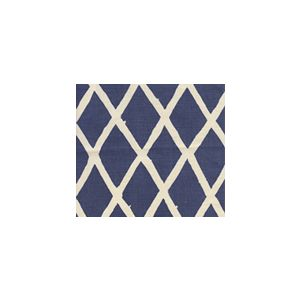 6720-02 LYFORD DIAMOND BLOTCH Navy on Tint Quadrille Fabric