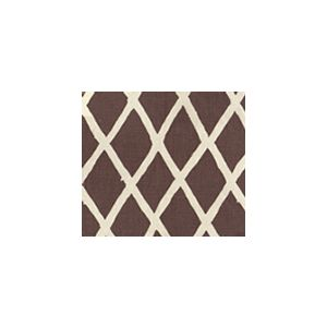 6720-06 LYFORD DIAMOND BLOTCH New Brown on Tint Quadrille Fabric